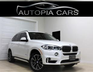 Used 2015 BMW X5 AWD xDrive35i HEADS UP BROWN INT NAVI REAR VIEW for sale in North York, ON