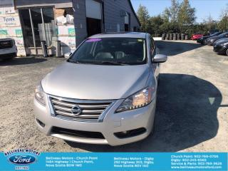 Used 2015 Nissan Sentra SL for sale in Church Point, NS