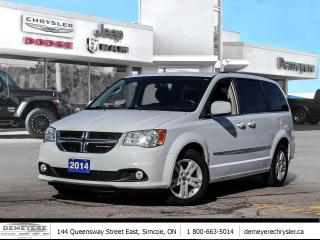 Used 2014 Dodge Grand Caravan CREW | ALLOYS | STOW N GO for sale in Simcoe, ON