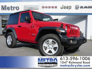 Used 2019 Jeep Wrangler Sport 4x4 LOW KMs & MINT for sale in Ottawa, ON