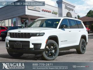 New 2021 Jeep Grand Cherokee All-New L Altitude for sale in Niagara Falls, ON