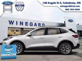 New 2021 Ford Escape Titanium Hybrid for sale in Caledonia, ON
