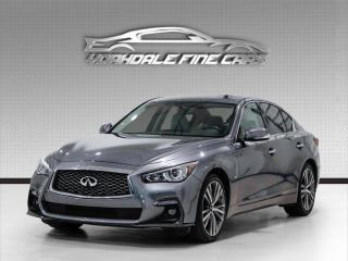 Used 2018 Infiniti Q50 3.0t AWD. NAVIGATION. SUNROOF. CAMERA. DRIVER ASSIST. for sale in Concord, ON