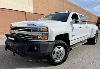 Used 2016 Chevrolet Silverado 3500HD 4WD Crew Cab High Country FULLY LOADED!! for sale in Calgary, AB