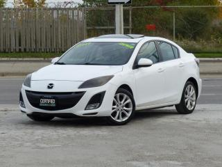 Used 2011 Mazda MAZDA3 GT,LEATHER,FULLY LOADED,NO-ACCIDENT,CERTIFIED for sale in Mississauga, ON