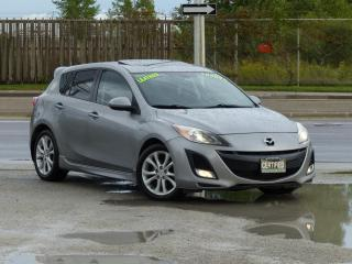 Used 2011 Mazda MAZDA3 HB Sport GT,LEATHER,FULLY LOADED,CERTIFIED,EXTRA CLEAN for sale in Mississauga, ON