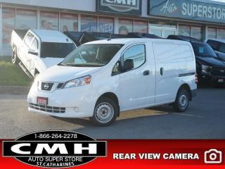 Used 2020 Nissan NV200 S  CAM APPLE-CARPLAY SW-AUDIO PWR-GROUP for sale in St. Catharines, ON