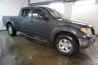 Used 2010 Nissan Frontier V6 SV 4x4 CREW CAB CERTIFIED 2YR WARRANTY *SERVICE RECORDS* RUNNING BOARDS BLUETOOTH CRUISE ALLOYS for sale in Milton, ON