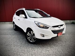 Used 2015 Hyundai Tucson Limited, AWD, Navi, Pano Roof, B-cam, Leather for sale in Scarborough, ON
