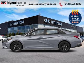 New 2022 Hyundai Elantra Preferred w/Sun and Tech  - $180 B/W for sale in Kanata, ON