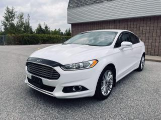 Used 2016 Ford Fusion NO ACCIDENTS | NAVIGATION | BACKUP CAM | BLUETOOTH for sale in Barrie, ON