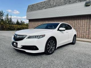 Used 2017 Acura TLX NO ACCIDENTS | WOOD TRIM | BACK UP CAM | SUNROOF for sale in Barrie, ON