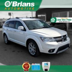 Used 2015 Dodge Journey R/T - Accident Free w/AWD, Command Start, Backup Camera, Leather for sale in Saskatoon, SK