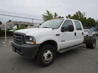Used 2004 Ford F-550 XL Super Duty Crew Cab Dually Cab and Chassis Diesel 2WD for sale in Burnaby, BC