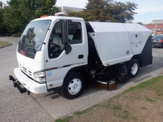 Used 2007 GMC W4500 Diesel Street Sweeper for sale in Burnaby, BC