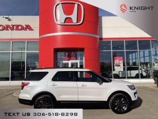 Used 2018 Ford Explorer XLT l Appearance Package l Local Trade for sale in Moose Jaw, SK