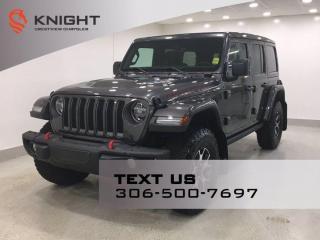 Used 2021 Jeep Wrangler Unlimited Rubicon | Leather | Navigation | for sale in Regina, SK