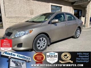 Used 2010 Toyota Corolla CE* Manual Transmission/AC/LOW km for sale in Winnipeg, MB