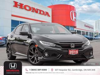 Used 2019 Honda Civic Sport Touring GPS NAVIGATION | POWER SUNROOF | REARVIEW CAMERA for sale in Cambridge, ON