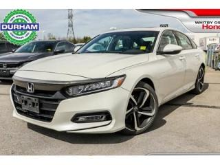 Used 2018 Honda Accord Sunroof Backup Camera Heated Seats for sale in Whitby, ON