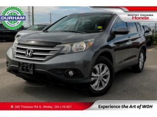 Used 2012 Honda CR-V Touring AWD Navigation Leather Sunroof Backup Cam for sale in Whitby, ON