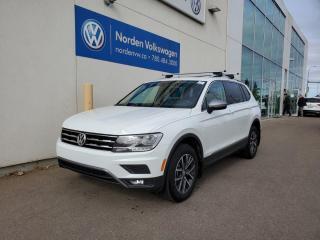 Used 2020 Volkswagen Tiguan IQ Drive | RARE SPEC | ROOF RACKS | VW CERTIFIED for sale in Edmonton, AB