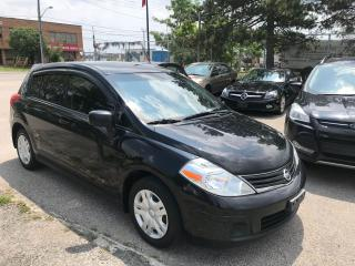 Used 2012 Nissan Versa AUTO,HATCHBACK,COLD A/C,GAS SAVER,SAFETY INCLUDED for sale in Toronto, ON