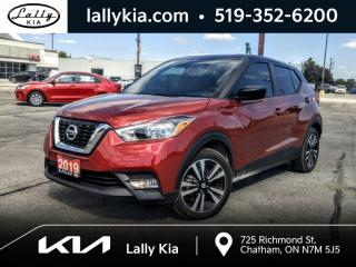 Used 2019 Nissan Kicks SV FWD #Heated Seats #Bluetooth for sale in Chatham, ON