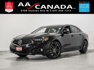 Used 2019 Acura TLX Tech A-Spec for sale in North York, ON