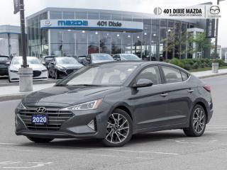 Used 2020 Hyundai Elantra Luxury ONE OWNER| NO ACCIDENTS| SUNROOF for sale in Mississauga, ON