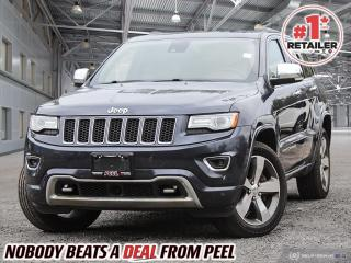 Used 2015 Jeep Grand Cherokee Overland for sale in Mississauga, ON