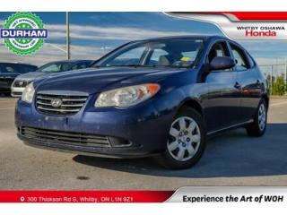 Used 2010 Hyundai Elantra for sale in Whitby, ON