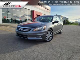 Used 2012 Honda Accord Sedan EX-L BACKUP CAMERA, HEATED SEATS, SUNROOF, NAVIGATION for sale in Calgary, AB