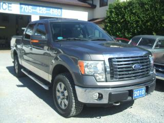 Used 2010 Ford F-150 XLT, SuperCrew, XTR. 4x4, Low KM for sale in Beaverton, ON