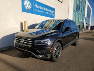 Used 2018 Volkswagen Tiguan HIGHLINE | TECH PKG | 3RD ROW PKG | CERTIFIED for sale in Edmonton, AB