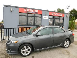 Used 2012 Toyota Corolla S | Cruise | Bluetooth for sale in St. Thomas, ON