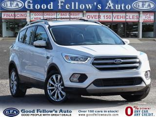 Used 2017 Ford Escape TITANIUM, PAN ROOF, LEATHER & HEATED SEATS, NAVI for sale in Toronto, ON