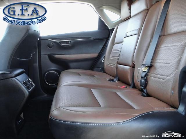 2017 Lexus NX 200t EXECUTIVE PKG, AWD, NAVI, REARVIEW CAMERA, SUNROOF Photo10