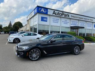 Used 2018 BMW 530 i xDrive NAV   LEATHER SEATS   SUNROOF   HEATED SEATS   for sale in Brampton, ON