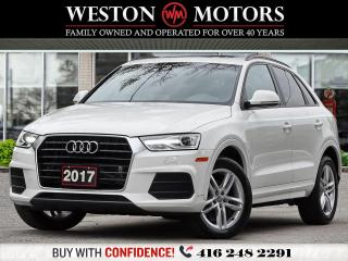 Used 2017 Audi Q3 PANROOF*LEATHER*TECH PKG!!* for sale in Toronto, ON