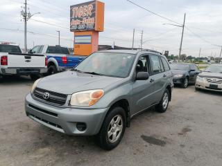Used 2005 Toyota RAV4 4X4*AUTO*4 CYLINDER*AS IS SPECIAL for sale in London, ON