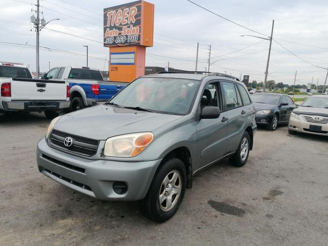 2005 Toyota RAV4 4X4*AUTO*4 CYLINDER*AS IS SPECIAL