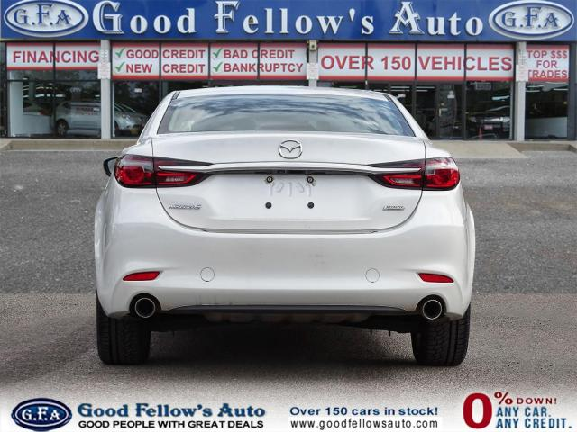 2018 Mazda MAZDA6 GT MODEL, SKYACTIV, SUNROOF, LEATHER SEATS, LDW Photo4