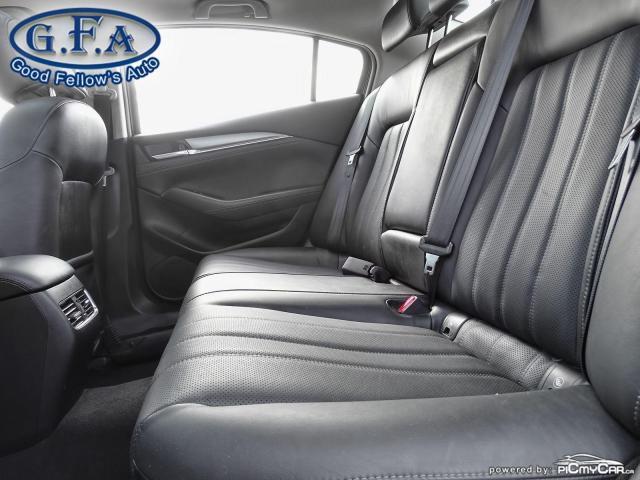 2018 Mazda MAZDA6 GT MODEL, SKYACTIV, SUNROOF, LEATHER SEATS, LDW Photo10