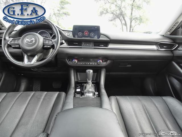 2018 Mazda MAZDA6 GT MODEL, SKYACTIV, SUNROOF, LEATHER SEATS, LDW Photo12