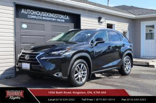 Used 2017 Lexus NX 200t NAVIGATION - CLEAN CARFAX - HEATED AND COOLED SEATS for sale in Kingston, ON