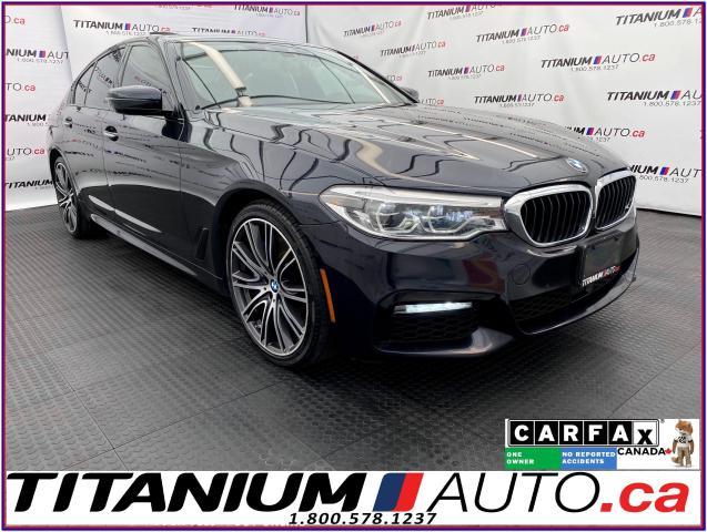 2017 BMW 5 Series 540i+Massage Seats+Adaptive Cruise+Night Vision+XM