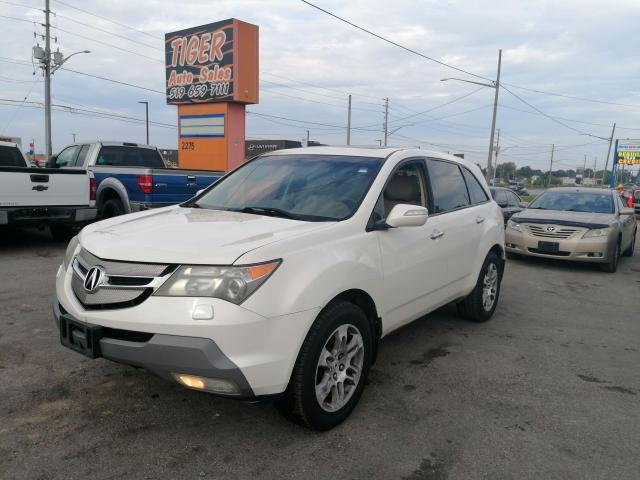 2007 Acura MDX TECHNOLOGY PKG*LEATHER*NAVI*DVDS*7 PASS*AS IS SPE
