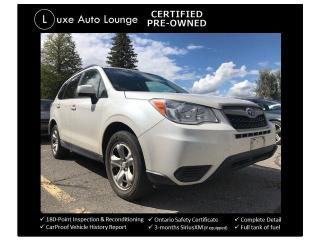 Used 2015 Subaru Forester 2.5i AWD, 6-SPD MANUAL, HEATED SEATS, BLUETOOTH! for sale in Orleans, ON