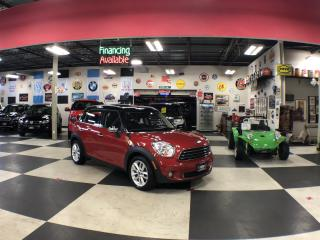 Used 2014 MINI Cooper Countryman AUT0 NAVI LEATHER PANO/ROOF CAMERA H/SEATS 99K for sale in North York, ON